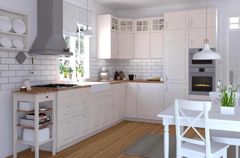 Ikea kitchen vray render 3dsmax in 2020 Kitchen wall