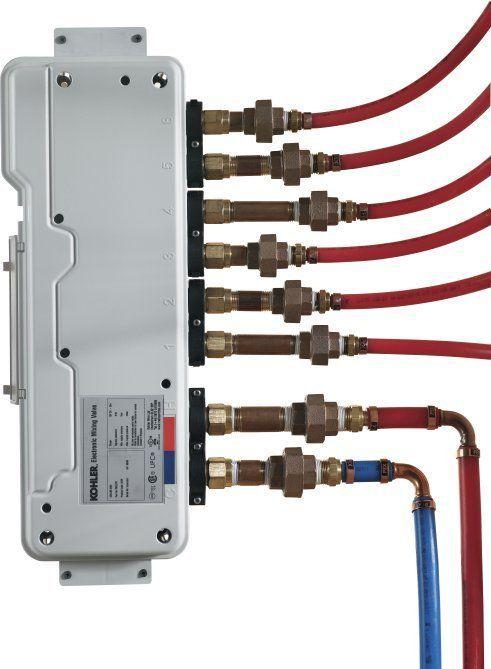 Exceptional Kohler K 682 K DTV Six Port Thermostatic Valve Showers Digital Shower Valves  3