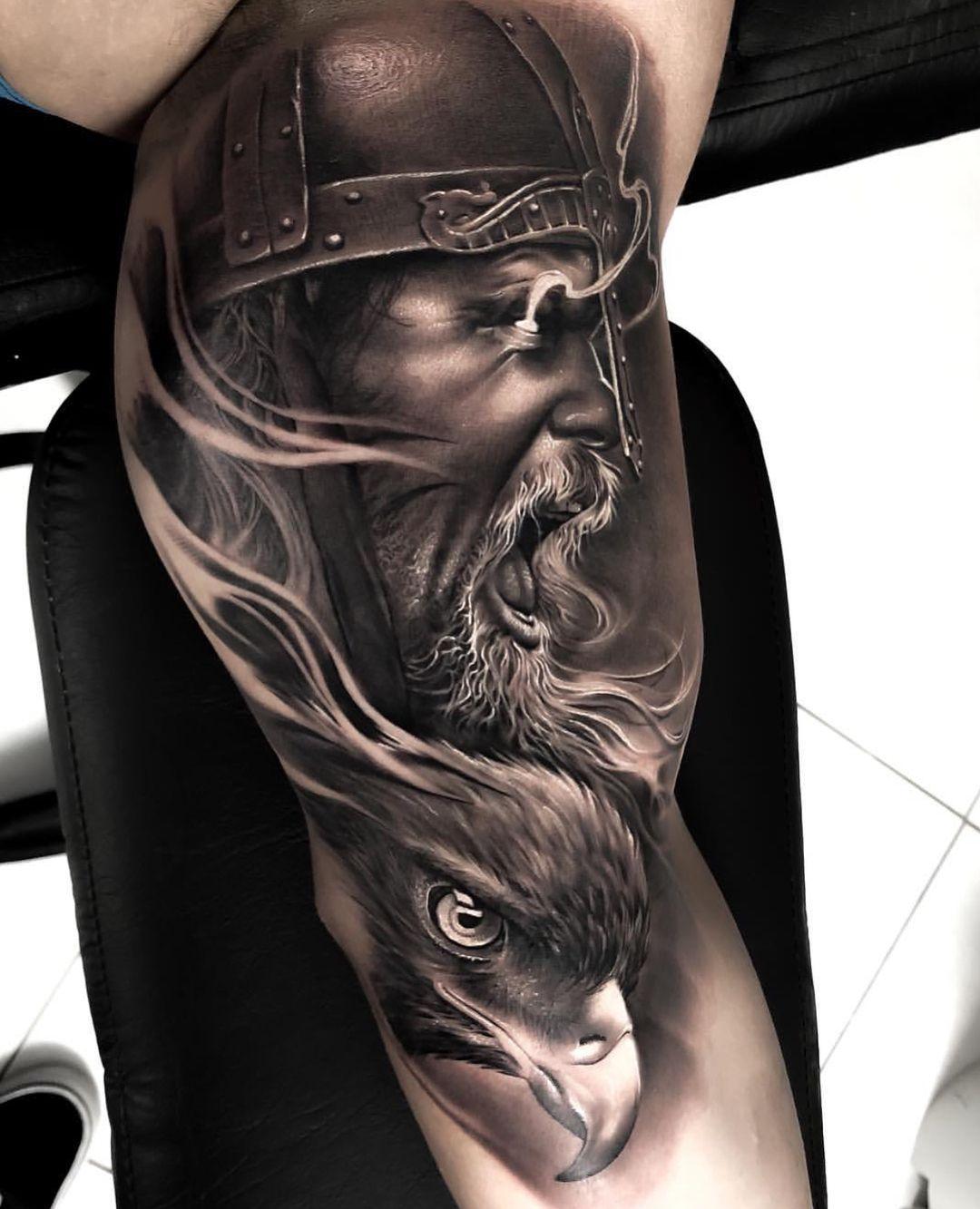 TattooDesign TattooIdeas Viking tattoo sleeve, Viking