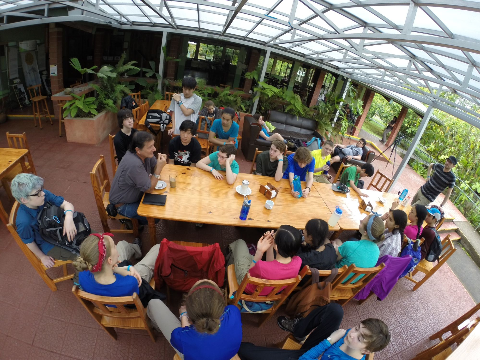 Open Window School Learning From The Director Of La Selva Biological Research Station Open Window Learning Basketball Court