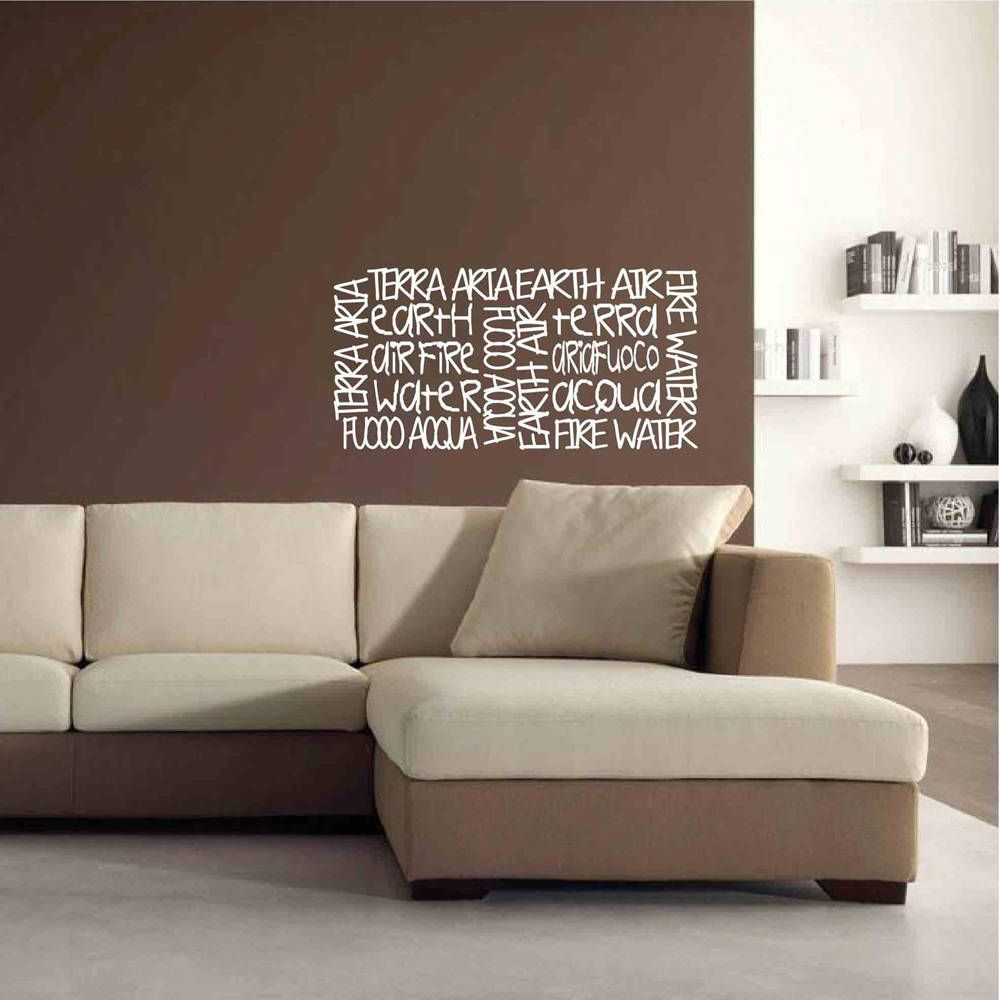 10+ Stunning Wall Decal Ideas For Living Room