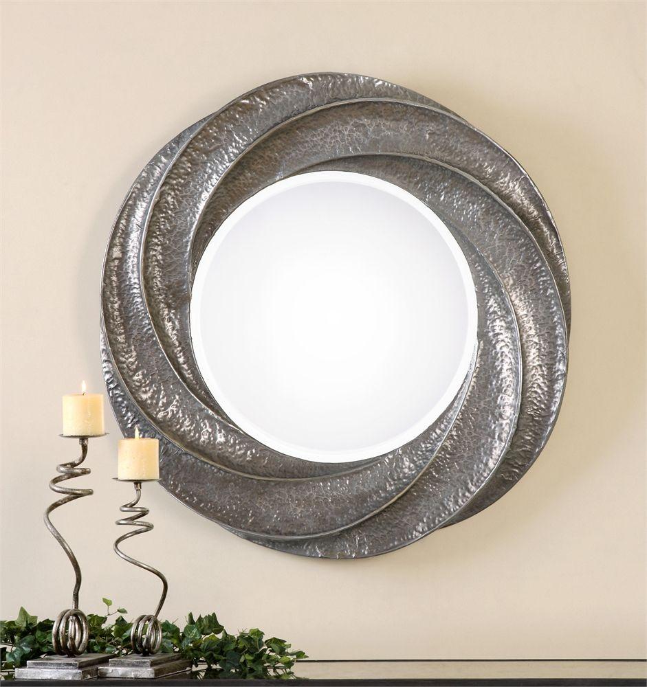 Popup Window 216129 Silver Wall Mirror Round Wall Mirror Mirror Wall
