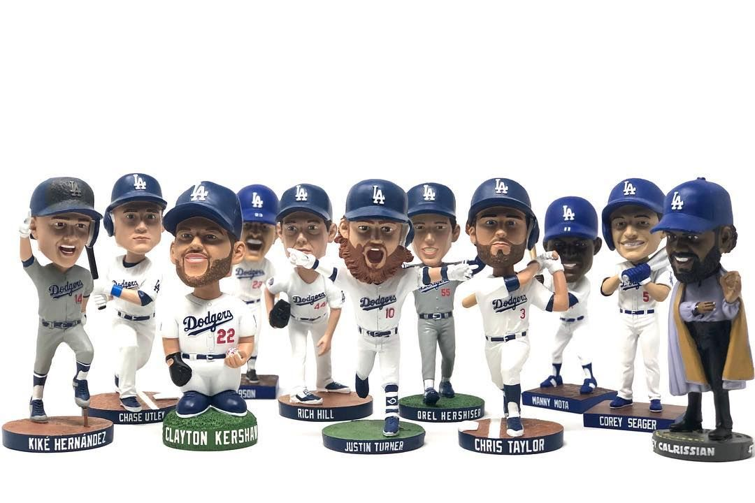 Its Nationalbobbleheadday Which Dodger Bobblehead Is Your All Time Favorite Dodgers Com Bobbleheads Dodgers Los Angeles Dodgers Bobble Head