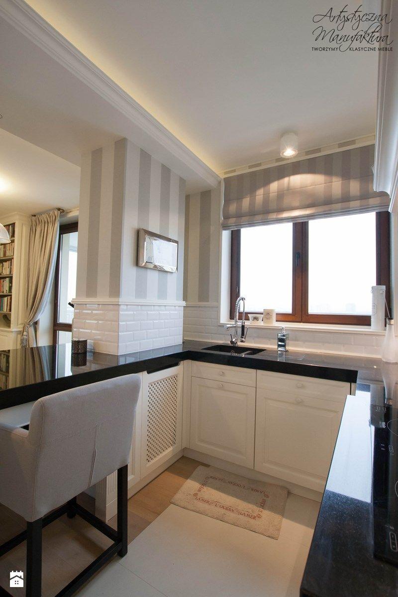 Beautiful Custom White Kitchen Cabinets