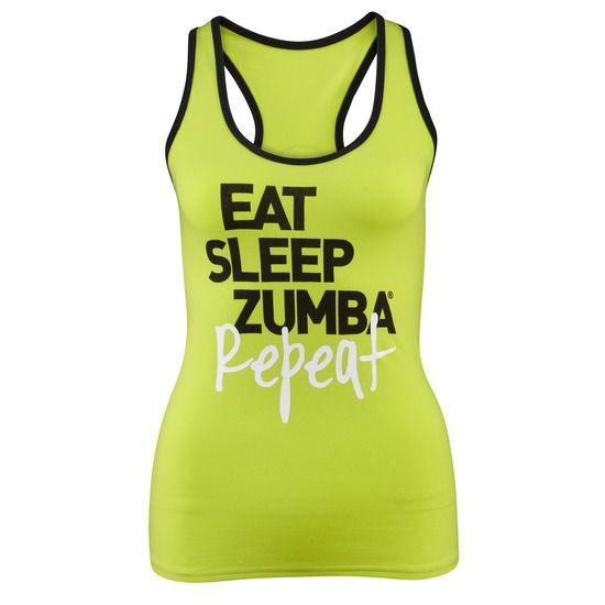 Zumba Instructor Racerback | Use affiliate code 10SALE or shop thru this link to get 10% off! http://www.zumba.com/en-US/store/US/affiliate?affil=10sale