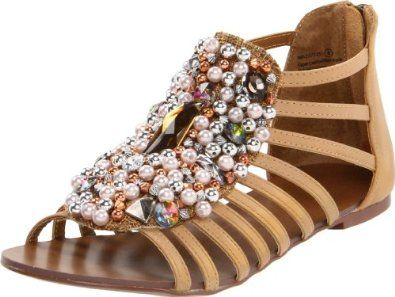 Amazon.com: Naughty Monkey Women's Wink Wink Sandal: Naughty Monkey: Shoes: