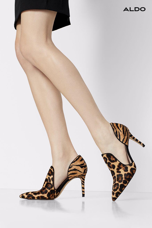 leopard print from Aldo shoes | Heels