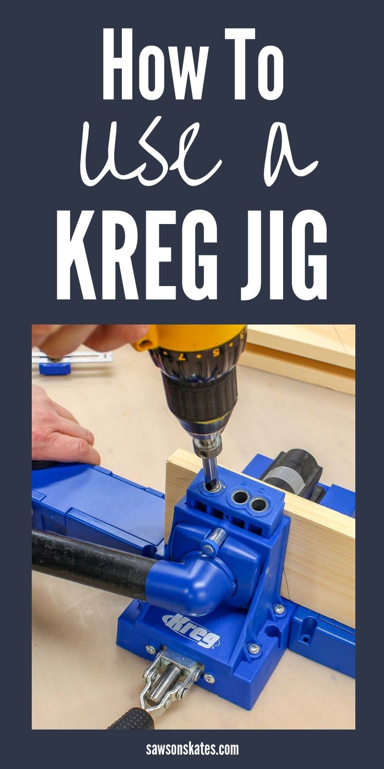 How To Use A Kreg Jig Settings You Need To Know Saws On Skates Woodworking Jigsaw Woodworking Jigs Carpentry Diy