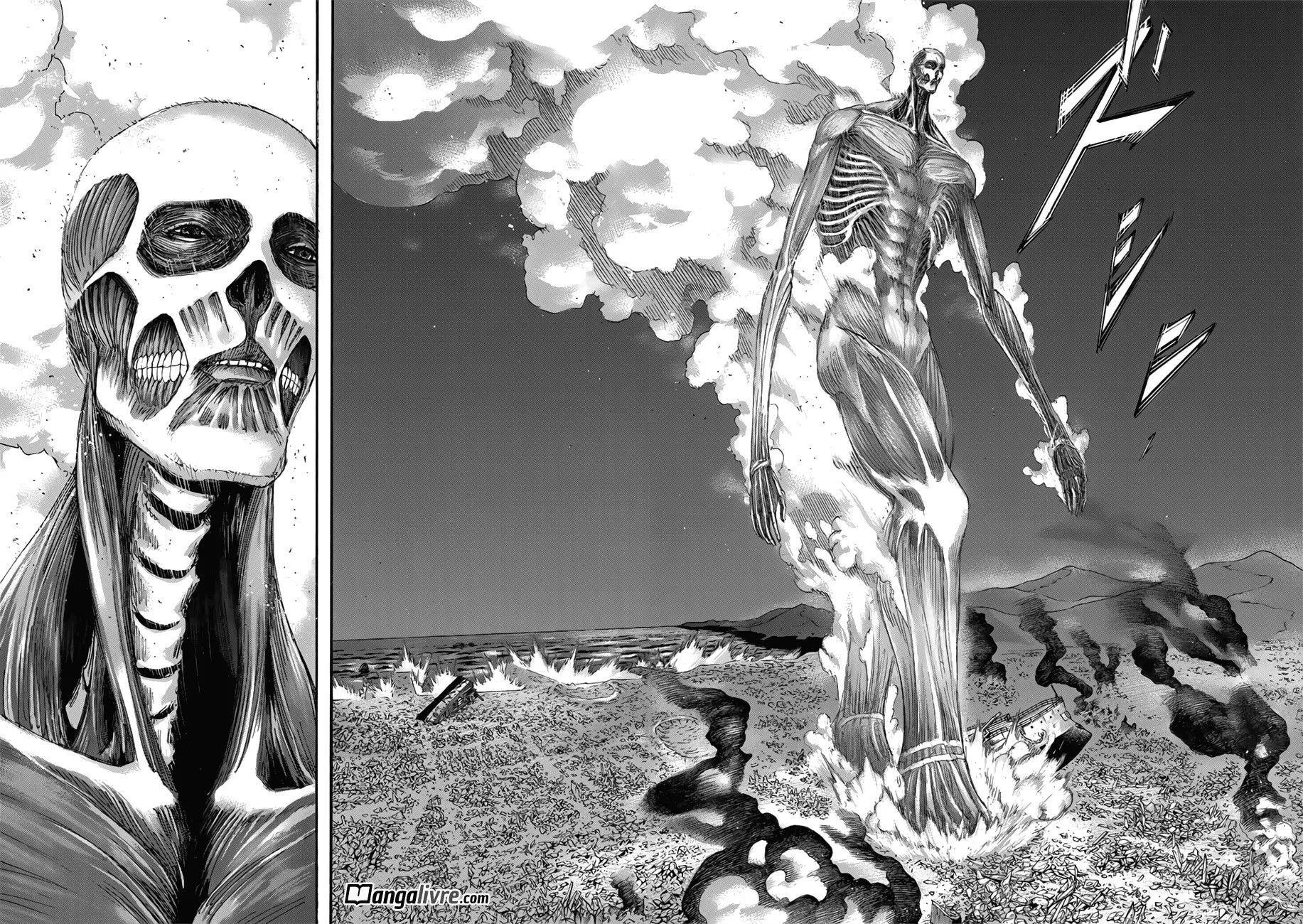 Armin Colosal Manga Snk Con Imagenes Kyojin Armin Shingeky