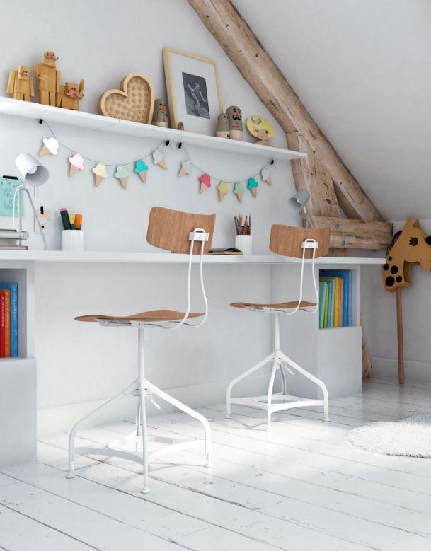 tablette d cor blanc perle 250x30 cm en 2019 am nagement. Black Bedroom Furniture Sets. Home Design Ideas