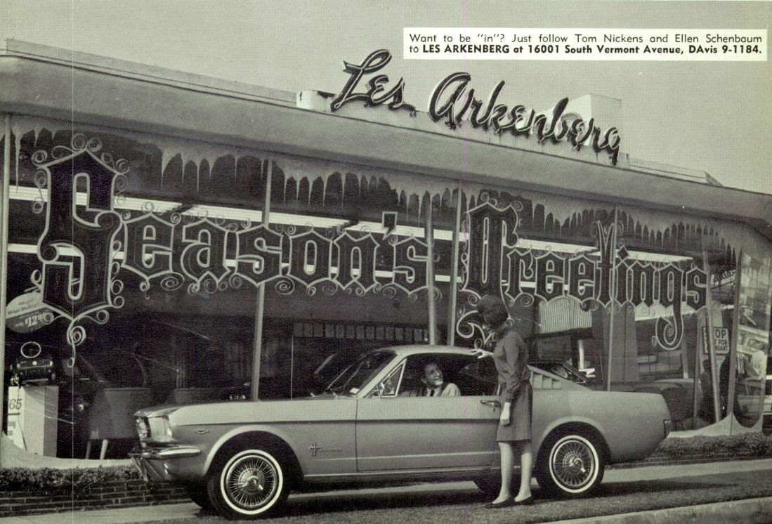 1966 Les Arkenberg Ford Dealership Gardena California With Images Vintage Mustang Ford Mustang Vintage Muscle Cars