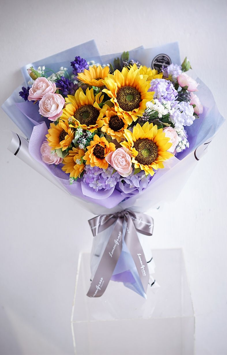 Pin by LemongrassWedding on Silk Flower Gift Bouquet