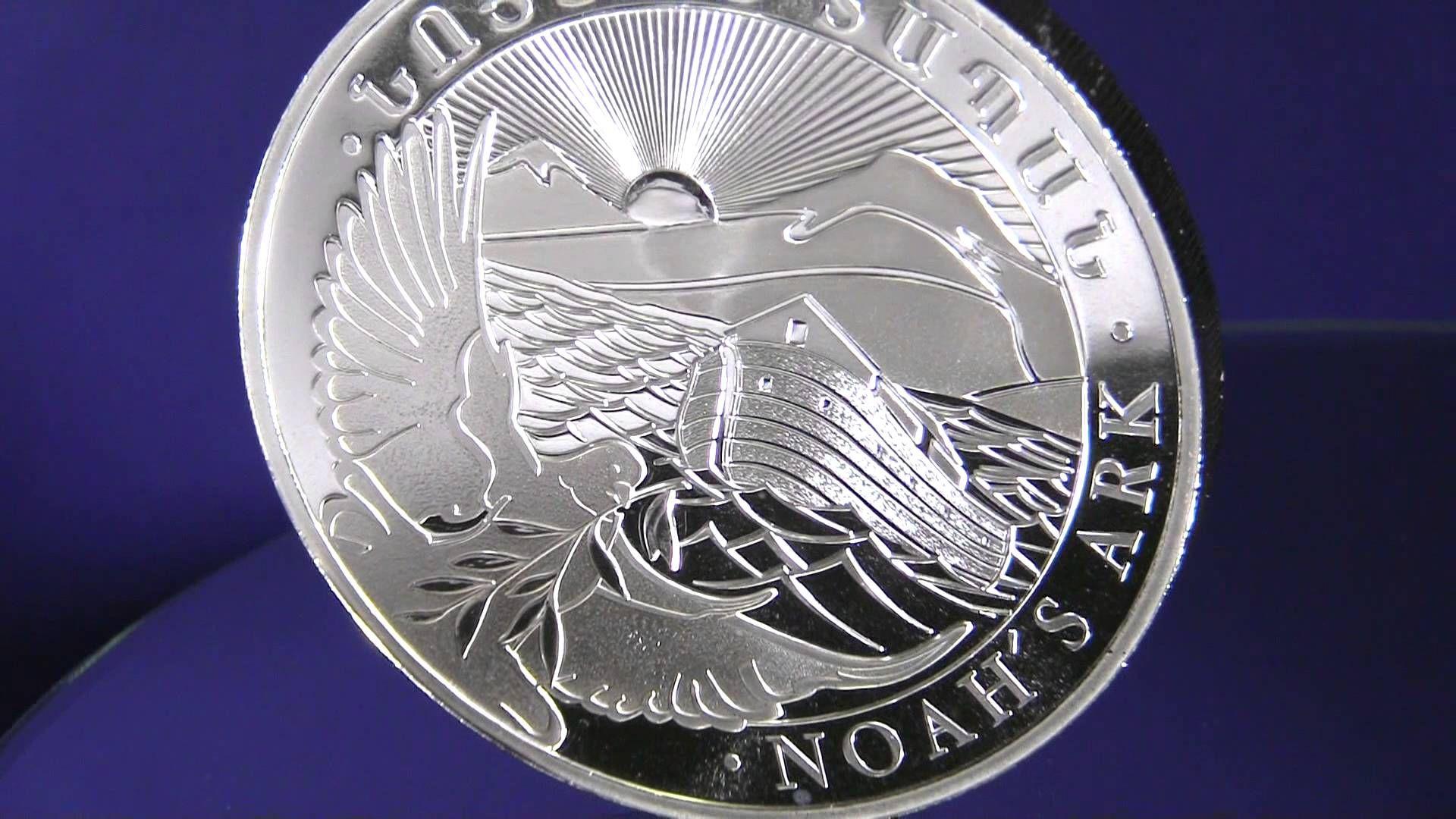 Armenian 2014 10 oz Silver Noah's Ark Coin at Art and Coin TV