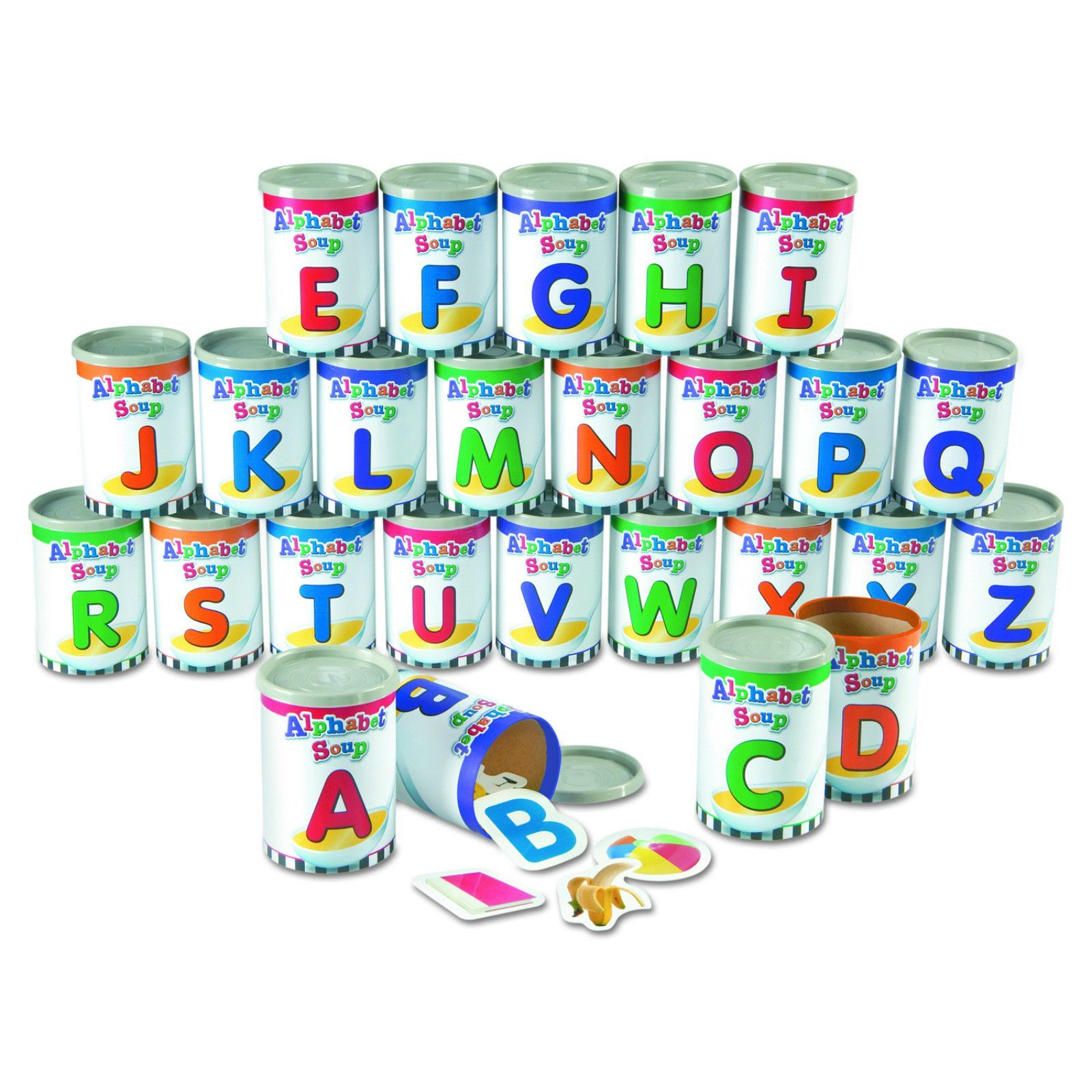 Learning Center Toys Alphabet Soup Sorters