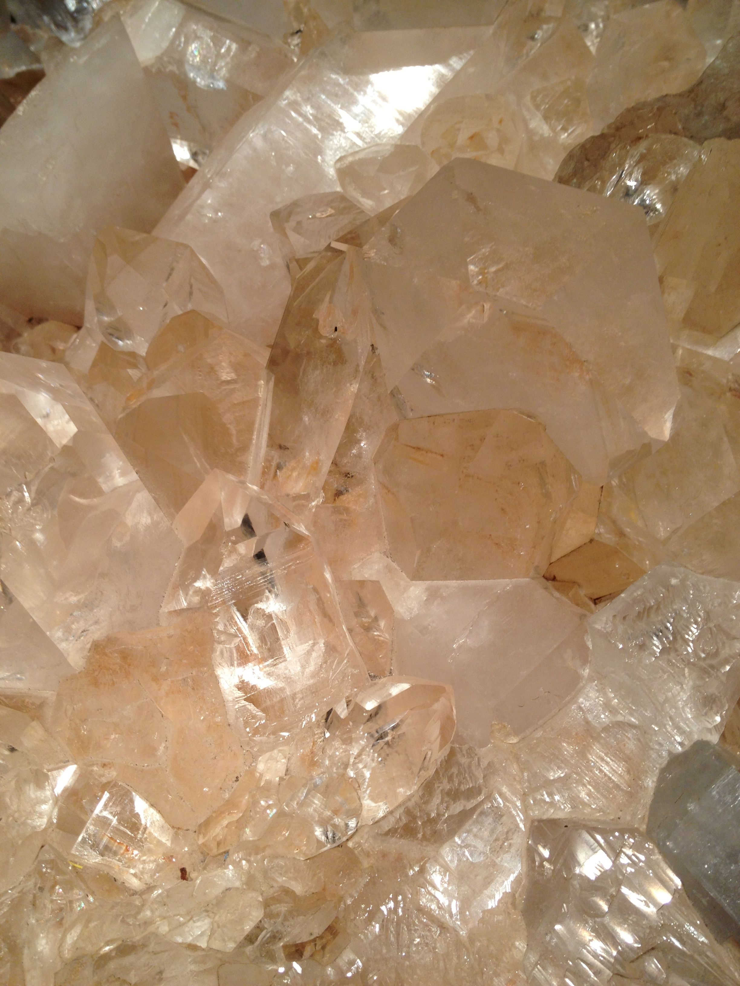 Crystal from Idar-Oberstein, Germany