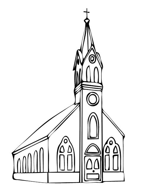 heres the church and heres the steeple open the door and see all the people