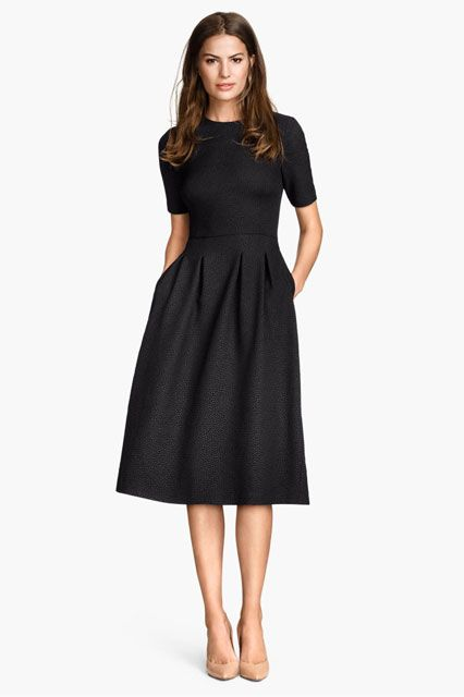 Cocktail Party Dress Tight Dress With Collar In Elegant Womans Clothing Black Knee Length Dress For Her Office Outfit for Spring