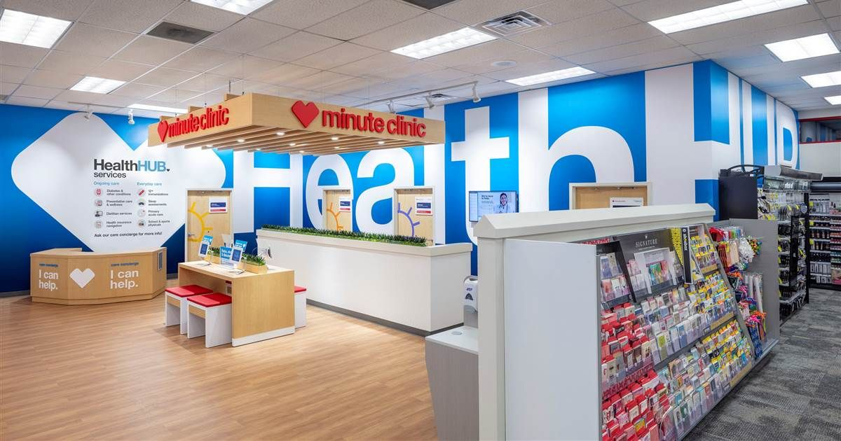 Mix · CVS announces further expansion into health care