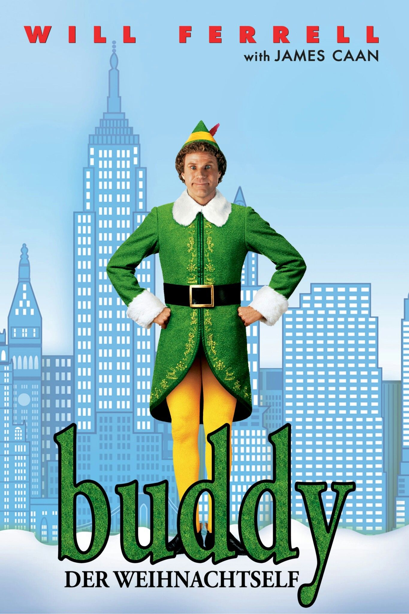 Elf german movie poster christmas movie posters artwork