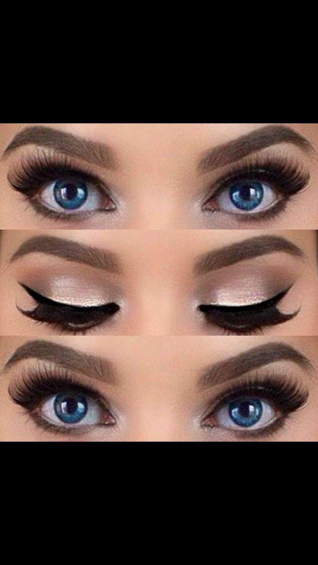 How to Apply the False Eyelash | Beauty | Makeup, Prom ...