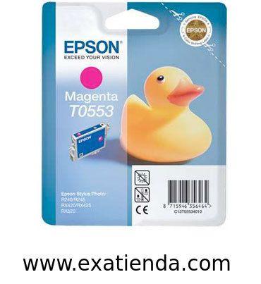 Ya disponible Cartucho Epson c13t055340 magenta   (por sólo 18.89 € IVA incluído):   - Compatible con: - Epson Stylus Photo RX420/ 425 - Color Magenta.  Garantía de fabricante  http://www.exabyteinformatica.com/tienda/2812-cartucho-epson-c13t055340-magenta #epson #exabyteinformatica