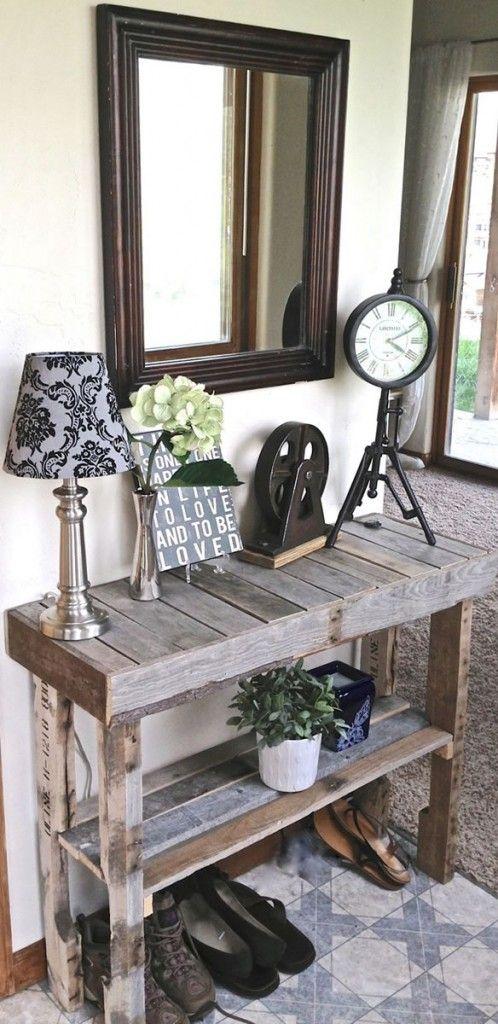 Recicla y decora con palets 29 ideas imperdibles Pinterest - ideas con palets