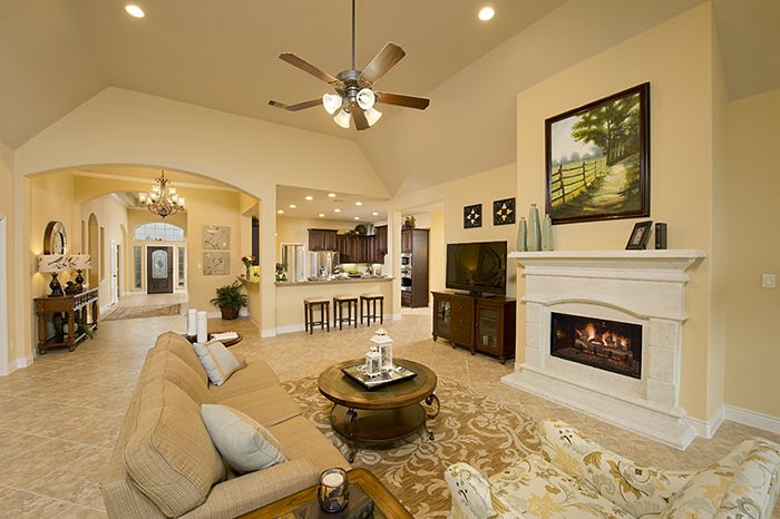 Perry Homes   The Preserve Of Mission Valley Model Home Design 3714W U2014 In  New Braunfels