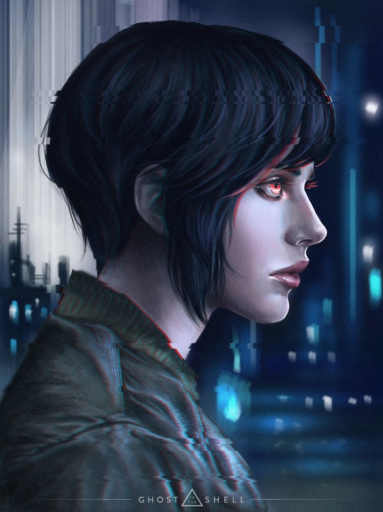 Ghost In The Shell By Dzydar Deviantart Com On Deviantart Ghost In The Shell Ghost Cyberpunk Girl