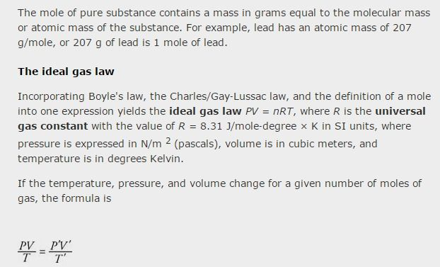 Development Of The Ideal Gas Law Ideal Gas Law Thermodynamics Molecular Mass