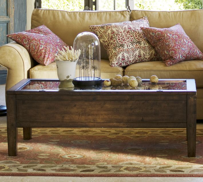 Townsend Coffee Table Espresso Stain Home