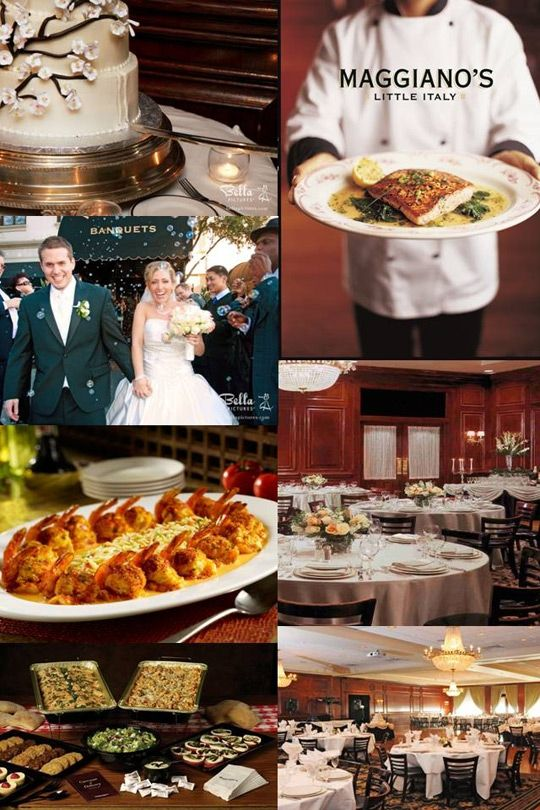 Saweddings Com Maggiano S Little Italy Catering Little Italy Wedding Rehearsal Dinner Wedding Catering