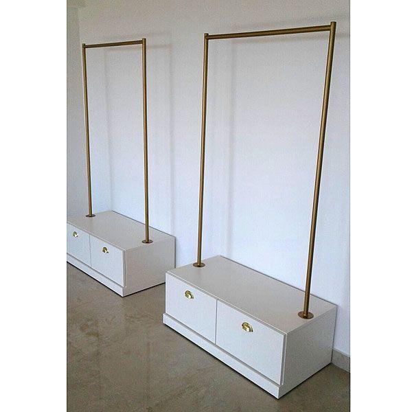 Muebles para Local de Ropa Decks de Madera para Exteriores