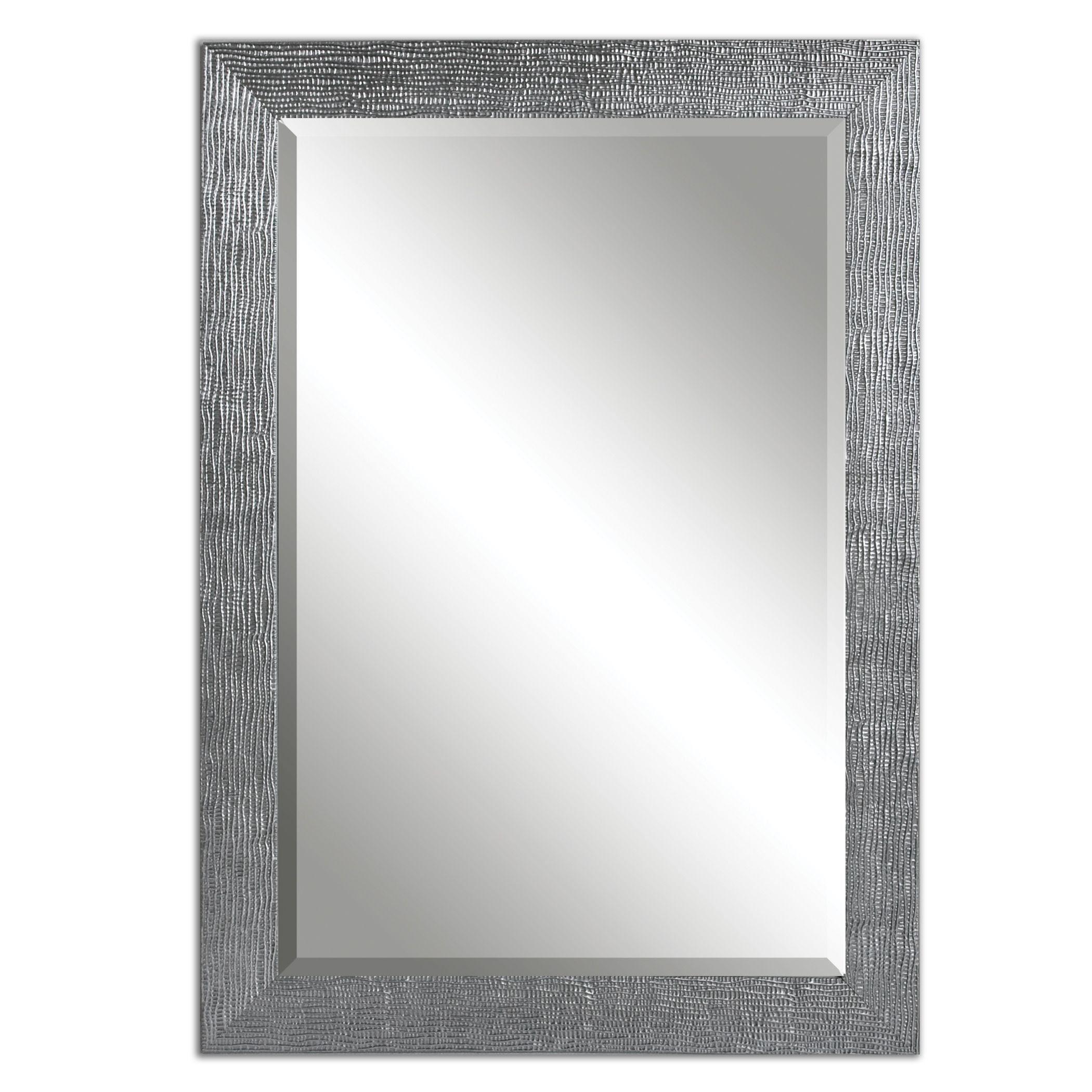 Diamond Freshfit Calhoun 42 In X 34 In White Rectangular Framed Bathroom Mirror Rectangular Bathroom Mirror Bathroom Mirror Lowes Bathroom Mirrors