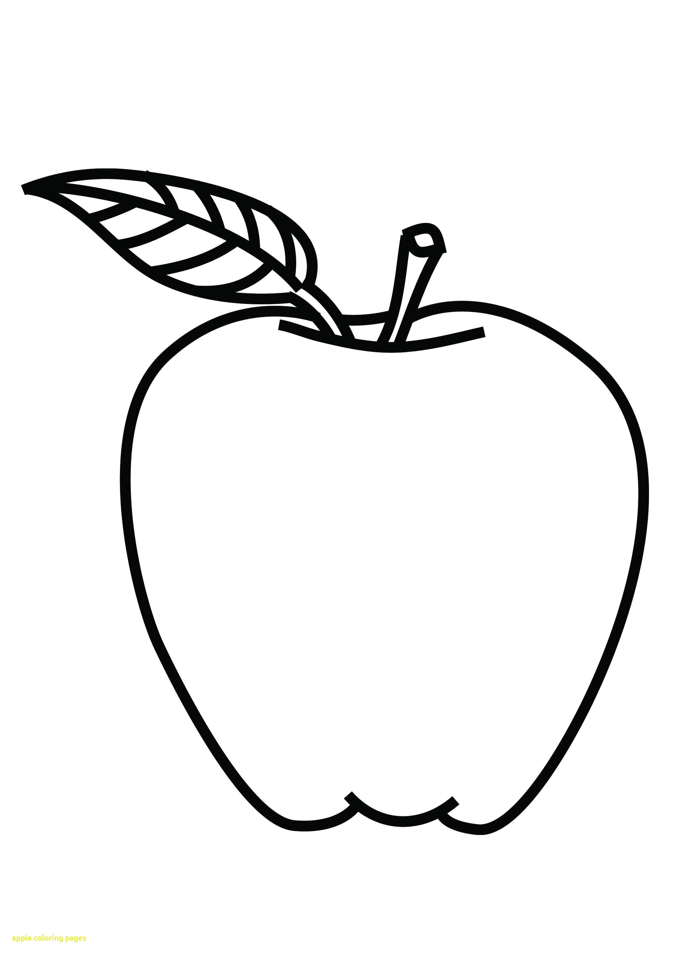 A Is For Apple Coloring Page Coloring Page Apple Coloring Pages Fruit Coloring Pages Apple Picture