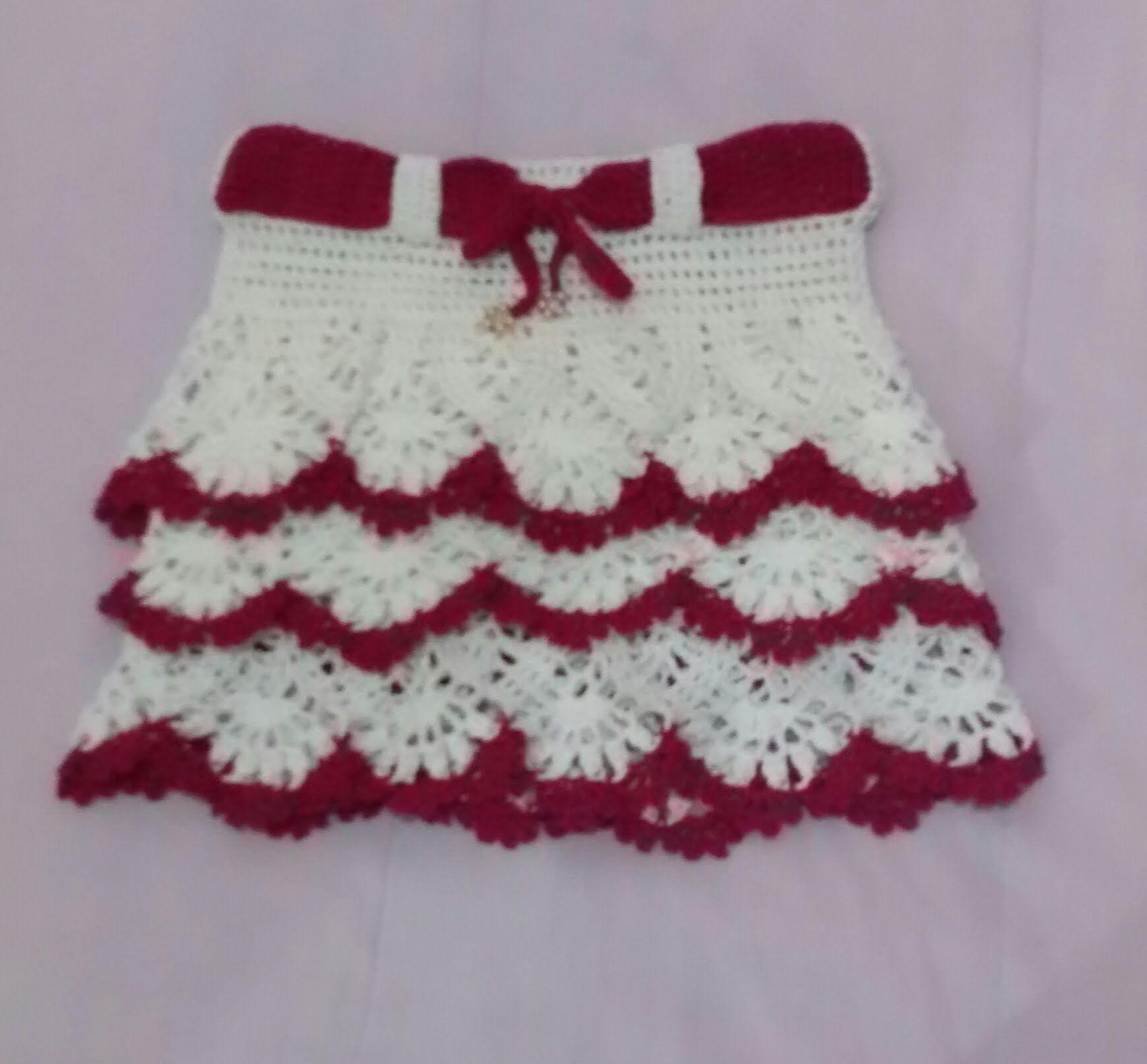 SAIA INFANTIL EM CROCHE PASSO A PASSO - PARTE 1° | croche | Pinterest