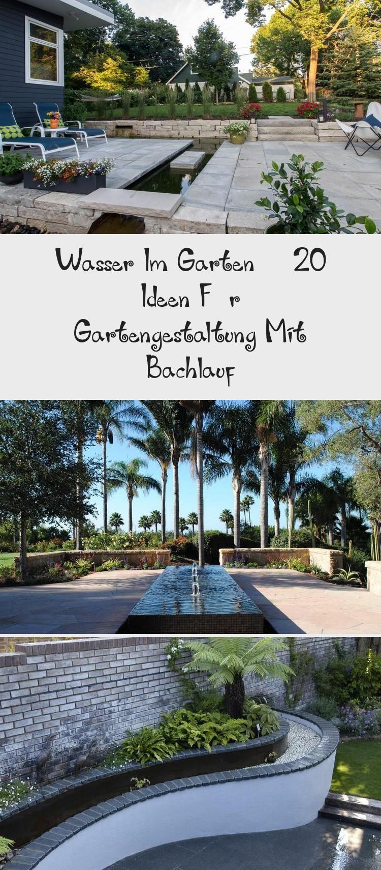 Wasser Im Garten 20 Ideen Fur Gartengestaltung Mit Bachlauf Wasser Im Garten 20 Ideen Fur Gartengestaltung Mit Bachla In 2020 Outdoor Outdoor Decor Decor