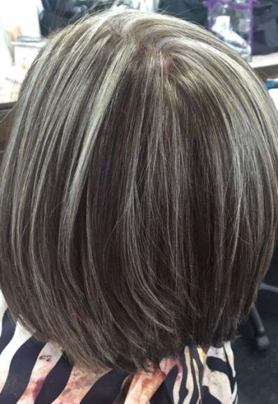 Blending In Grey Hairstyles For Women S Trends 2018