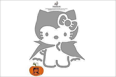 Pumpkin Stencils | 31 Free Pumpkin Carving Stencils of Cats for a ...