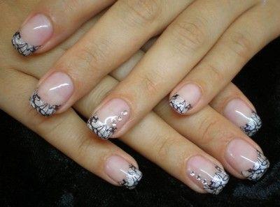 Italian nails french