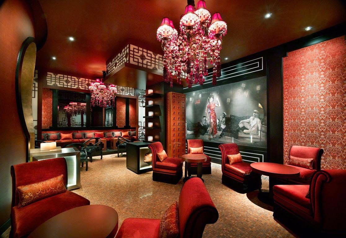 Asian Themed Living Room Modern Chinese Style  Modernchineseinteriorwithredthemes