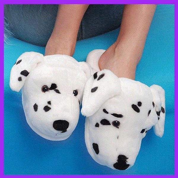 Dalmatian Slippers | Dog slippers