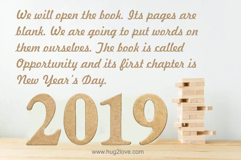 Best New Year Resolution Quotes 2019 Happy New Year 2019 Quotes