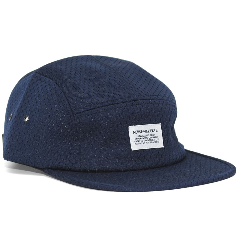 b473854381879 Norse Projects 5 Panel Prostyle Mesh Cap. £48. || British Indie Clothing -  AcquireGarms.com