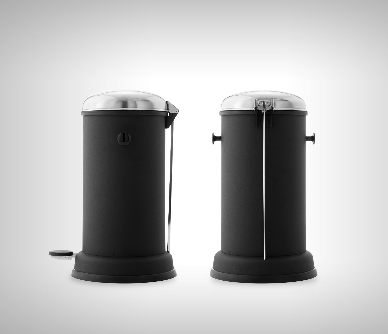 Poubelles Noires De Jardin kosz na śmieci vipp 15 14l / 4gal | poubelle salle de bain