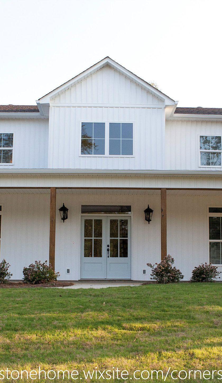 Magnolia Blossom Farmhouse Cornerstone Home Family House Plans Farmhouse Style House House Plans