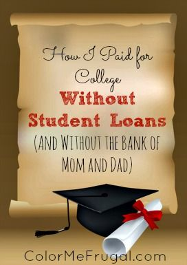 how to pay for college without scholarships