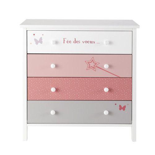 Enfants | CHAMBRE FILLE (ADO) | Dresser, Baby dresser et Kids furniture