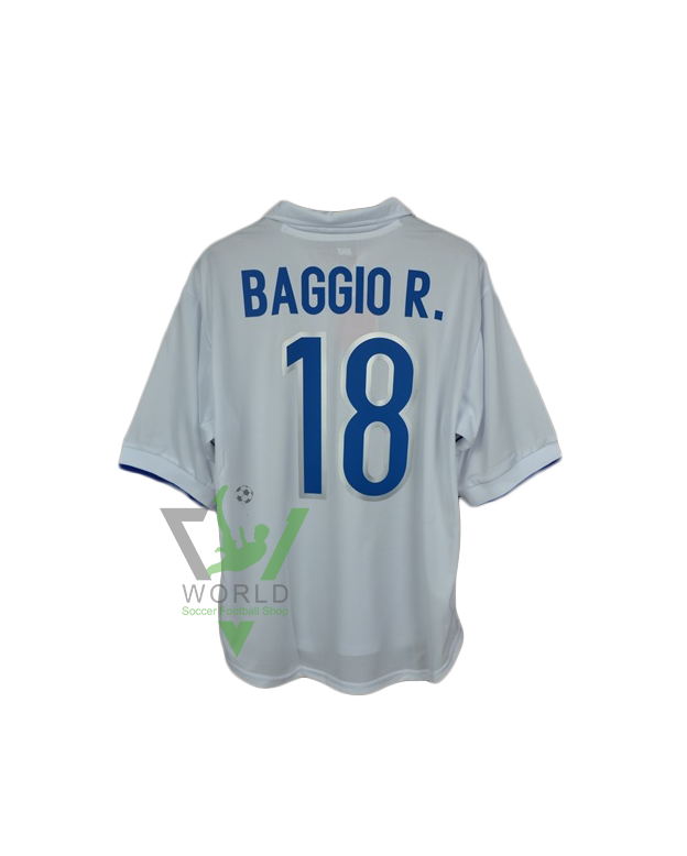 cheaper 76395 387bd Italy national football team Italia Away White Nike 18 ...