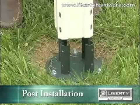 How To Install A Mailbox And Post Without Digging A Hole Mailbox Outdoor Landscaping New Mailbox