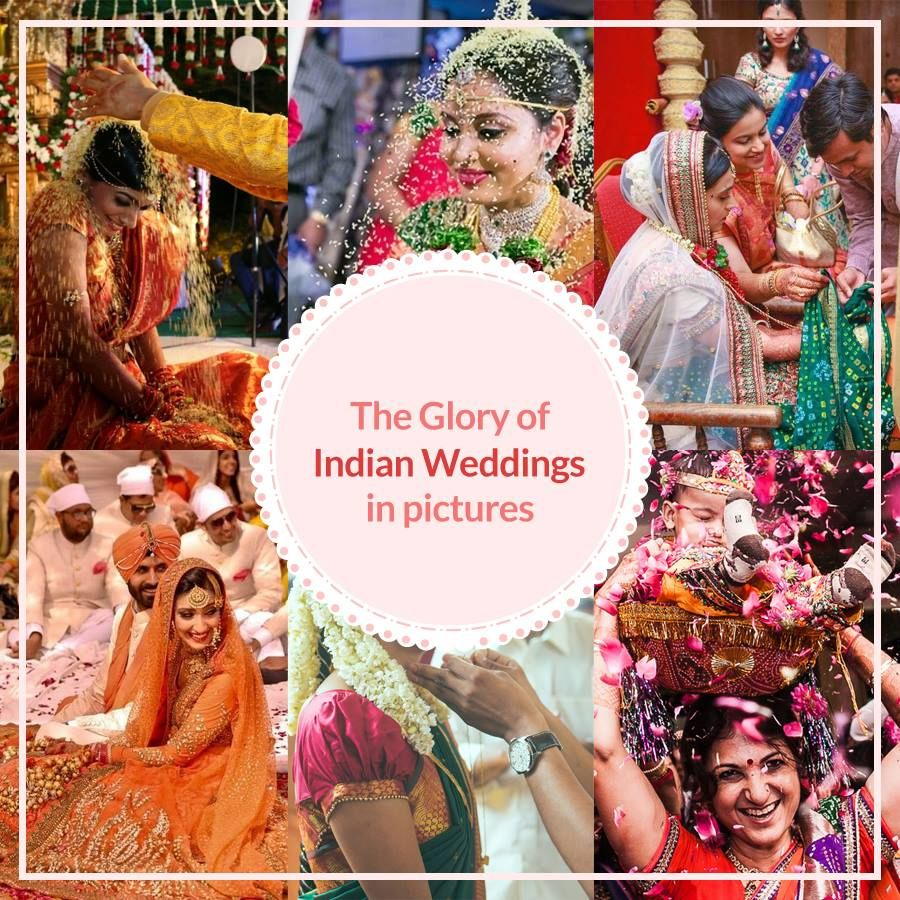 One of the most comprehensive collections of Indian wedding photos by region or religion we've seen!  http://www.huffingtonpost.in/…/indian-weddings_n_7134612.ht…